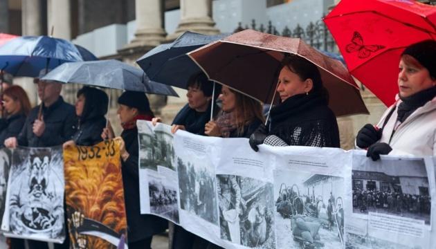 Українці в Мілані розповідали про Голодомор в Україні