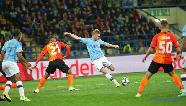 El Shakhtar empata ante el Manchester City en la UEFA Champions League
