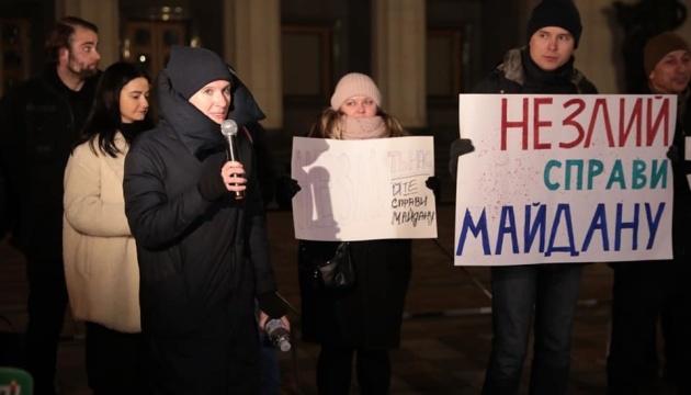 Адвокат родин Небесної сотні заявила, що з нею голодують вже восьмеро