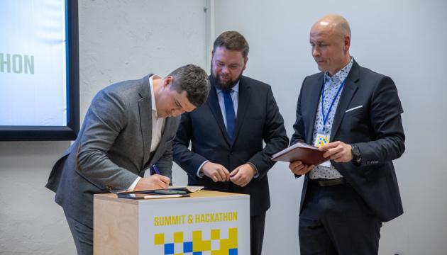 Ukraine, Estonia sign memorandum on cooperation in IT sector