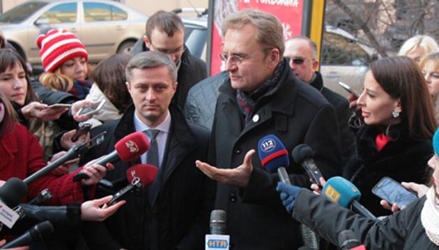 Klitschko says ready to stand surety for Lviv Mayor Sadovyi