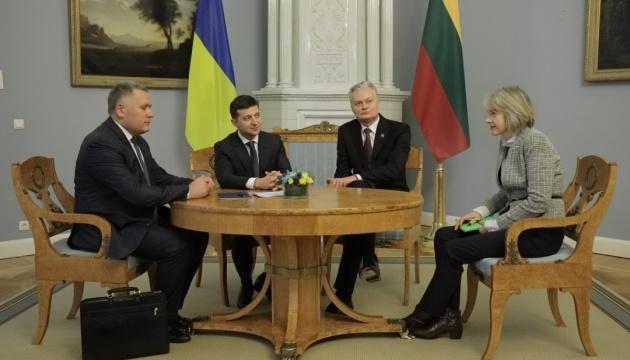 Zelensky entame sa visite en Lituanie, où il discutera du sommet en format Normandie, de l'intégration européenne et des réformes