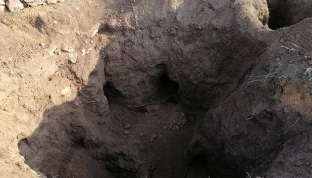 """На Запоріжжі """"чорні археологи"""" пограбували курган"""