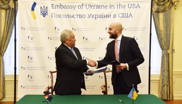 Україна підписала безвіз із Маршалловими островами