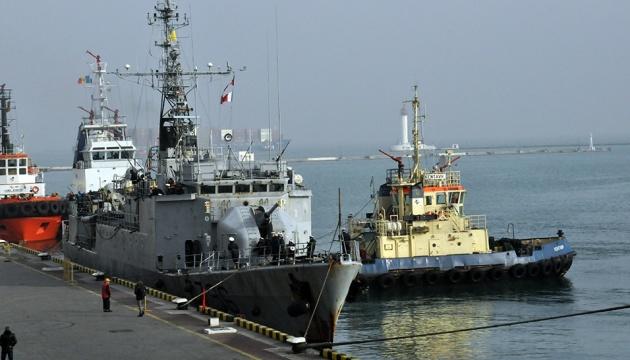 До Одеси прибув французький корвет Commandant Birot