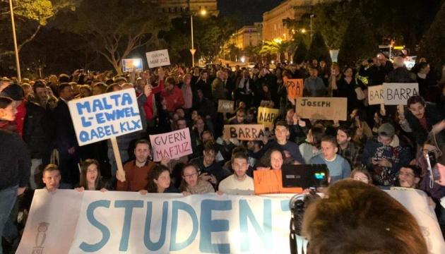 Справа про вбивство журналістки: на Мальті вимагають відставки прем'єра