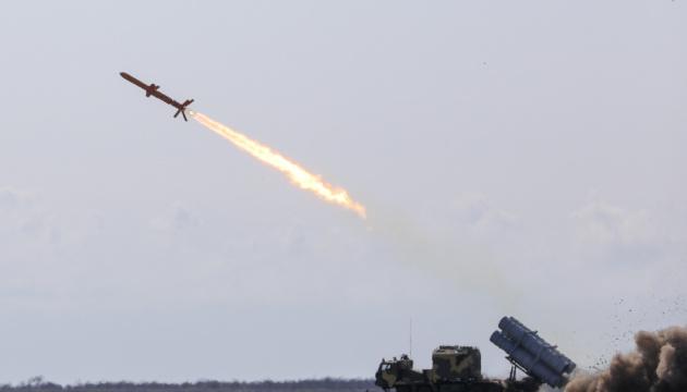 Ukraine test-fires cruise missile
