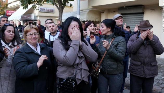 Під час землетрусу в Албанії загинула майбутня невістка прем'єра