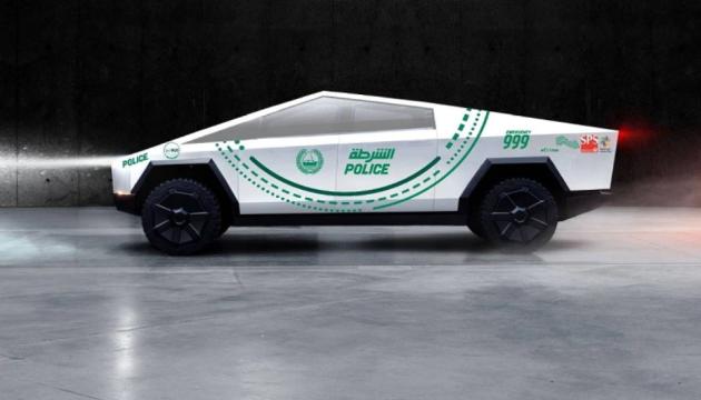 Электрокары Tesla Cybertruck пополнят автопарк дубайских копов