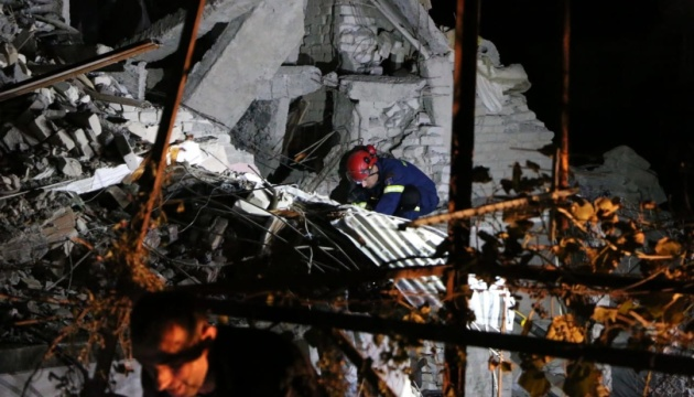 В Албанії завершили пошуки жертв землетрусу: 50 загиблих, 2000 поранених