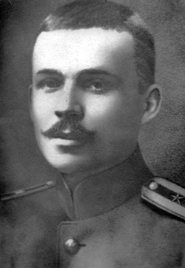 Прапорщик Куліш в часи Першої світової війни, близько 1915 р.