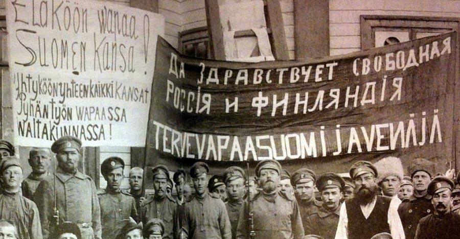 У 1917 році Фінляндія здобула незалежність