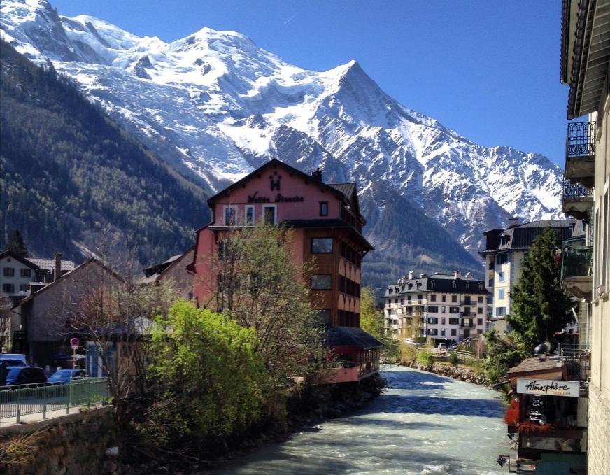 Шамоні - популярний гірський курорт