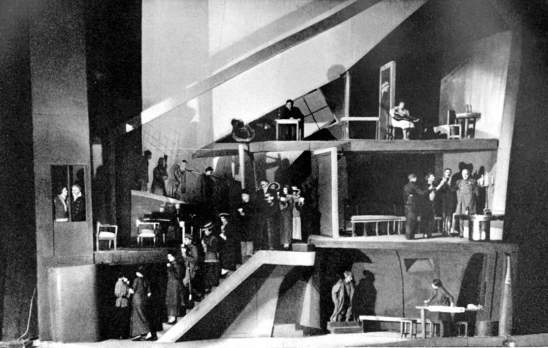 истава Патетична соната в Камерному театрі у постановці Олександра таїрова, Москва, 1930 р