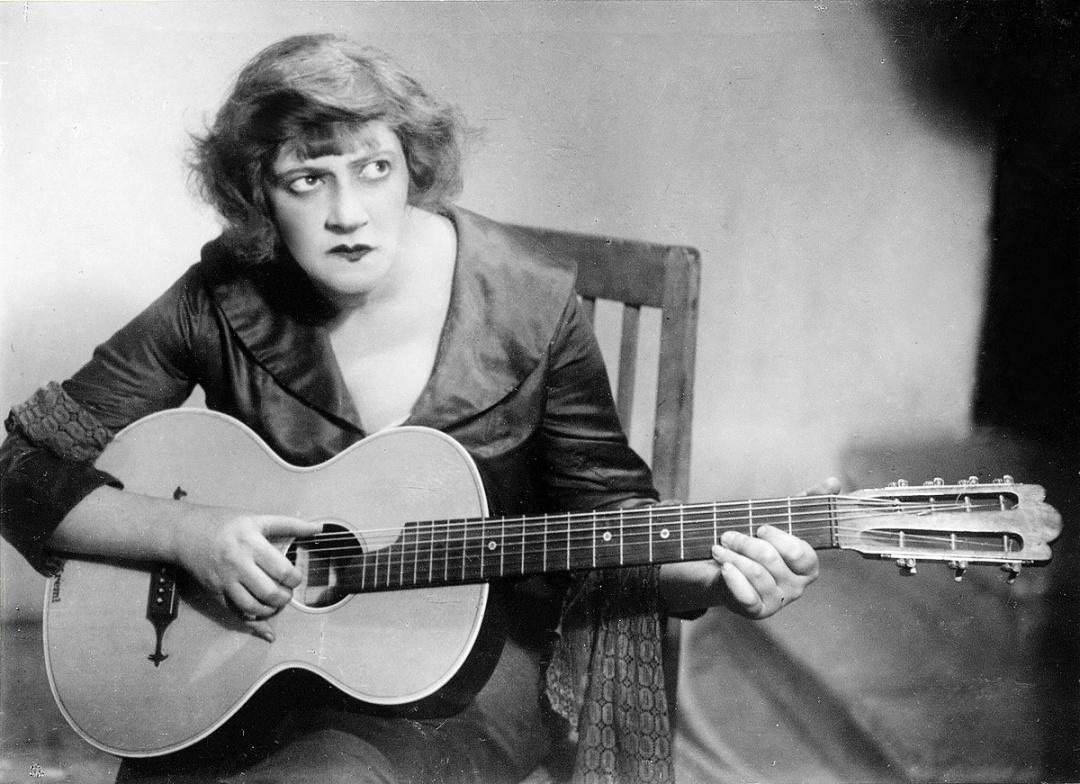 Фаїна Раневська в ролі Зіньки у Патетичній сонаті, 1930 р.