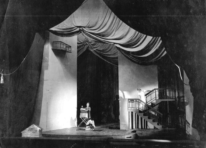 Сцена з вистави Маклена Граса, 1928 р