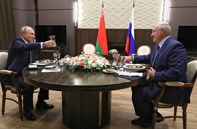Володимир Путін, Олескандр Лукашенко