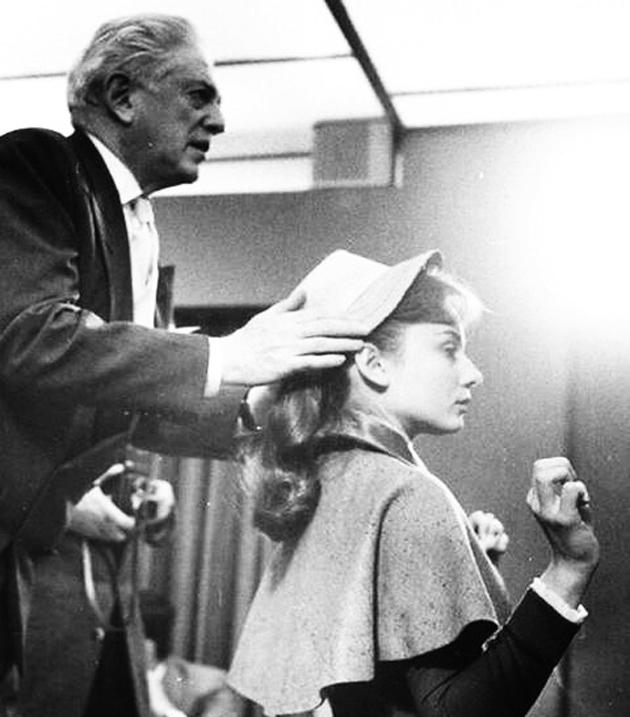 11-Анатоль Литвак і Одрі Хепберн, 1957 р.