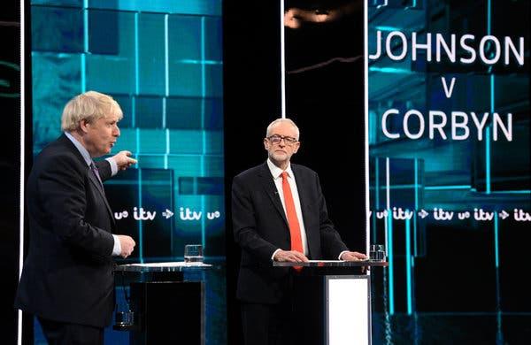 Борис Джонсон і Джеремі Корбін взяли участь у теледебатах