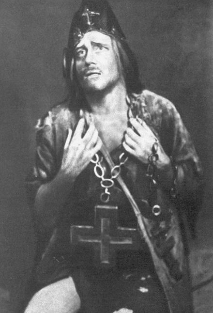 24-у ролі Юродивого в опері Борис Годунов, 1927 р.