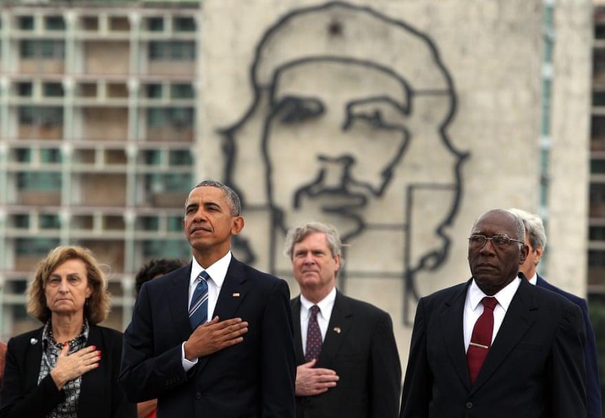 Барак Обама відвідав Гавану в 2016 році