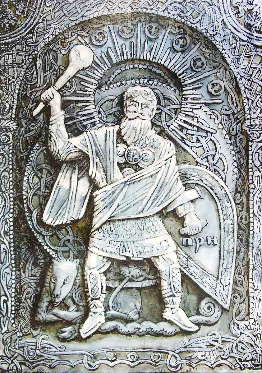 слов'янський бог-громовержець Перун
