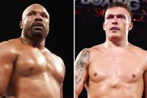 Boxen: Usyk und Chisora treffen sich beim Kampf Joshua - Ruiz