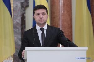 Selenskyj bestätigt sein Treffen mit Putin in Paris unter vier Augen
