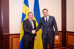 Goncharuk y el primer ministro de Suecia discuten el Nord Stream 2