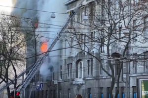 Odesa college fire kills one, injures 21