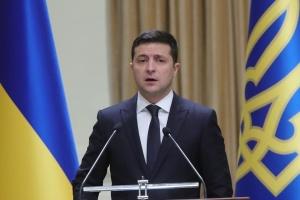 Volodymyr Zelensky félicite les militaires ukrainiens à l'occasion de leur fête professionnelle