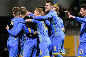Україна зіграє спаринг з Болгарією