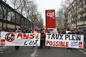 Францию парализовала общенациональная забастовка