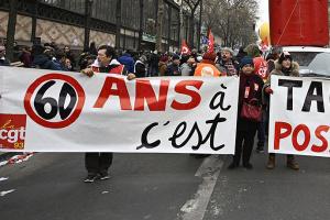 Профспілки Франції готові продовжити страйк через незгоду з пенсійною реформою