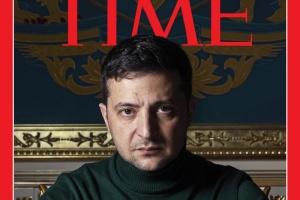 Volodymyr Zelensky en couverture de Time