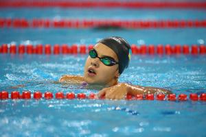 Украинка Зевина - четвертая на чемпионате Европы по плаванию