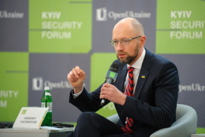 Яценюк вважає тимчасовим, що він іще не був Президентом