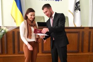 Известная спортсменка стала почетной гражданкой Чернигова
