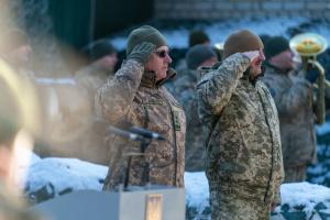 Zelensky promotes Khomchak to lieutenant colonel