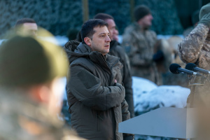 Zelensky promises to bring Ukrainian army up to NATO standards