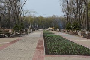 Детские площадки и скульптуры: отремонтировали один из крупнейших парков Донетчины