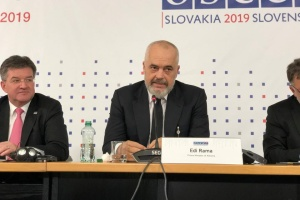 Прем'єр Албанії обіцяє, що під час її головування в ОБСЄ Україна буде в пріоритеті