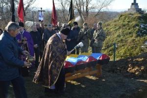 На Львівщині перепоховали останки чотирьох вояків УПА