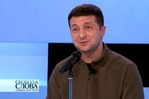 Losy ustawy o szczególnym statusie Donbasu zostaną rozstrzygnięte po szczycie normandzkim – Zełenski