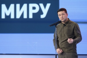 Зеленський: Ніхто не хоче капітуляції, навіщо збиратися на Майдані?