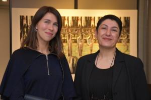 У Нідерландах до Дня ЗСУ відбулася виставка української художниці