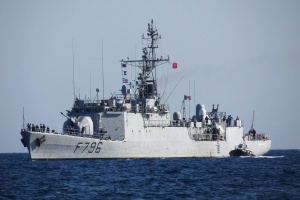 Российский самолет-разведчик приблизился к кораблю ВМС Франции возле Керченского пролива