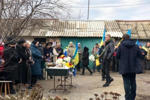 У Бахмуті прощаються з волонтером Артемом Мирошниченком