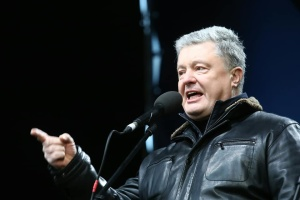 Poroshenko addresses Macron ahead of Normandy summit