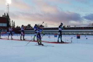 Біатлоністки України посіли 9 місце в естафеті на шведському етапі Кубка світу